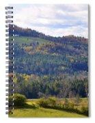 Hills Of Vermont Spiral Notebook