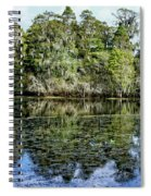Hillsborough River Panorama 1 Spiral Notebook