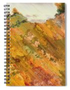 Hillside Flowers I Spiral Notebook