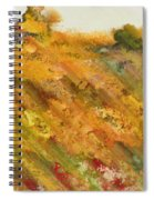Hillside Flowers II Spiral Notebook