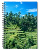 Hillside In Indonesia Spiral Notebook