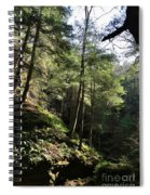 Hillside Landscape Spiral Notebook