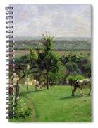Hillside Of Vesinet Spiral Notebook