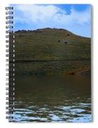 Hillside Reflection Spiral Notebook