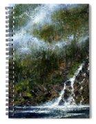 Hillside Run-off Spiral Notebook