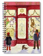 Hilltop Toys And Games Spiral Notebook