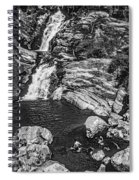 Himalayan Bath Bw Spiral Notebook