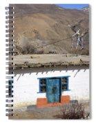 Himalayan Homestead, Muktinath, Nepal Spiral Notebook