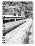 Himalayan Winter Scene Spiral Notebook