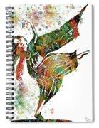 Hindu Dancer Spiral Notebook