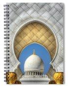 Hindu Temple Spiral Notebook