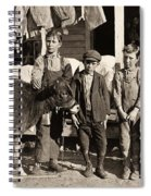 Hine: Child Labor, 1908 Spiral Notebook
