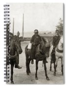 Hine: Coal Miners, 1908 Spiral Notebook
