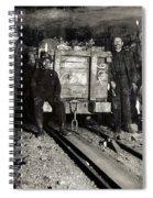Hine: Coal Miners, 1911 Spiral Notebook