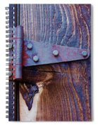 Hinged Spiral Notebook