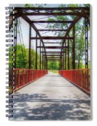 Hinkson Creek Bridge Spiral Notebook