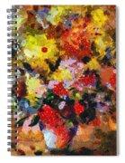 Hint Of Klimt Spiral Notebook
