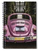 Hippie Chick Love Bug Spiral Notebook