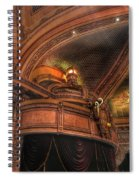 Hippodrome Theatre Balcony - Baltimore Spiral Notebook
