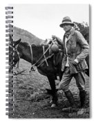 Hiram Bingham (1875-1956) Spiral Notebook