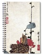 Hiroshige: Poppies Spiral Notebook