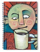 His Coffee Spoke To Him Spiral Notebook
