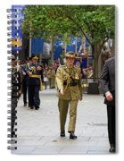 His Excellency General The Honourable David Hurley Spiral Notebook