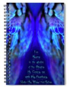 Beneath His Wings 2 Spiral Notebook