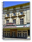 Historic 1920s Revived Lucas Theater Spiral Notebook