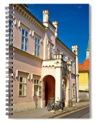 Historic Architecture Of Town Bjelovar Spiral Notebook