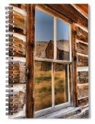 Historic Bannack Mining Reflections Spiral Notebook