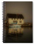 Historic Boat Builder Spiral Notebook