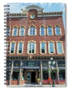 Historic Buildings Deadwood South Dakota Spiral Notebook