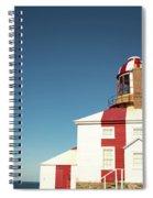 Historic Cape Bonavista Lighthouse, Newfoundland, Canada Spiral Notebook