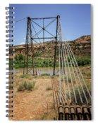 Historic Dewey Bridge Spiral Notebook