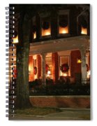 Historic District Christmas Spiral Notebook