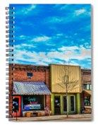 Historic Downtown Emmett 01 Spiral Notebook