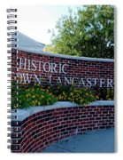 Historic Downtown Lancaster Spiral Notebook