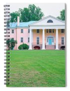 Historic Home Of James Madison Spiral Notebook