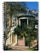 Historic Houses In A City, Charleston Spiral Notebook