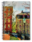 Historic Intersection Spiral Notebook