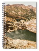 Historic Iron Ore Mine Spiral Notebook