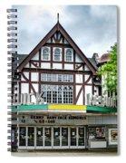 Historic Keswick Theater In Glenside Pa Spiral Notebook