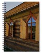 Historic Log Church Spiral Notebook