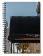 Historic Mills House Lodging Spiral Notebook