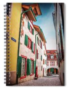 Historic Old Town Basel Switzerland  Spiral Notebook