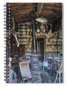 Historic Saddlery Shop - Montana Territory Spiral Notebook