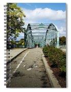 Historic South Washington St. Bridge Binghamton Ny Spiral Notebook