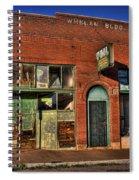 Historic Storefront In Bisbee Spiral Notebook