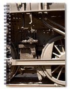 Historic Trains Spiral Notebook